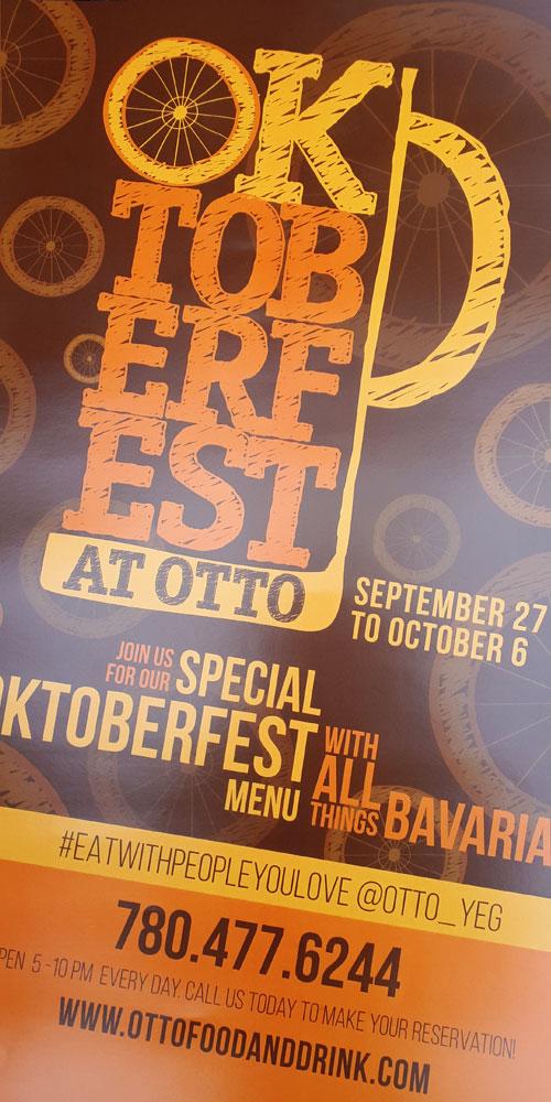 Otto Oktoberfest Poster